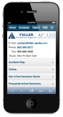m.fullerprovident.com website preview